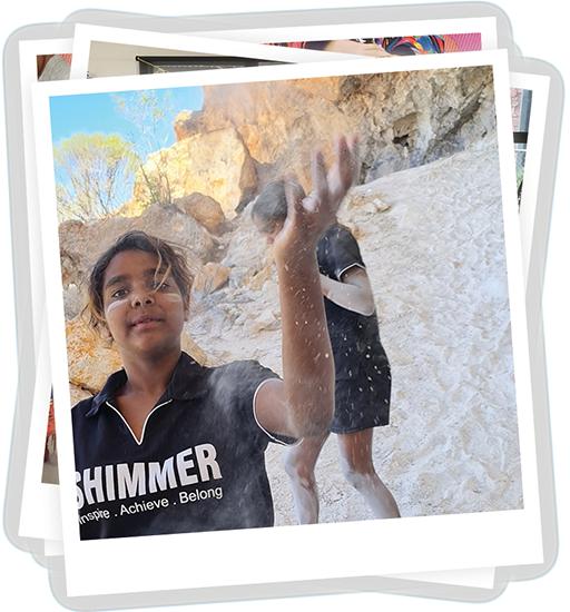 Shimmer program participant