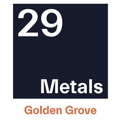 29Metals Golden Grove Square Logo